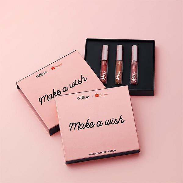 "COMBO ""ALL MY LOVE"" & ""MAKE A WISH"" + FREE OFÉLIA MIRROR - OFELIA COSMETICS"