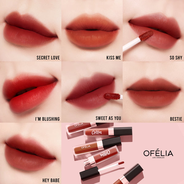 COTTON LIP CREAM The Classic Bag - OFELIA COSMETICS