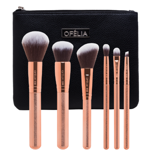 ROSE GOLD ESSENTIAL BRUSH SET