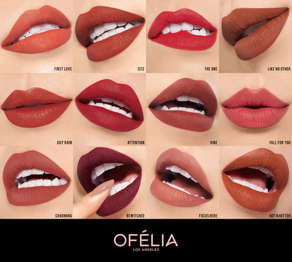 Full Collection Modern Matte Lipstick 2018