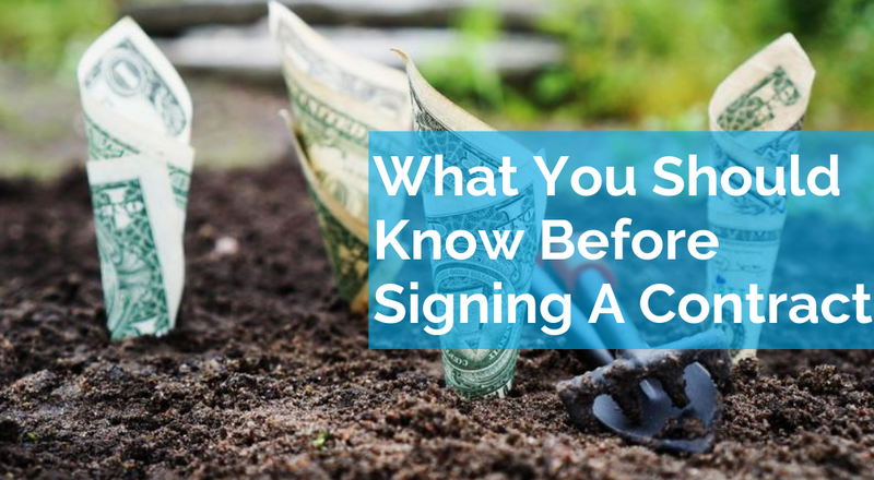 The Important Details You Should Be Aware Of Before Signing A Contract