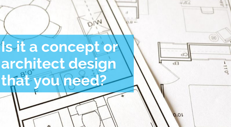Is it a concept or architect design that you need?