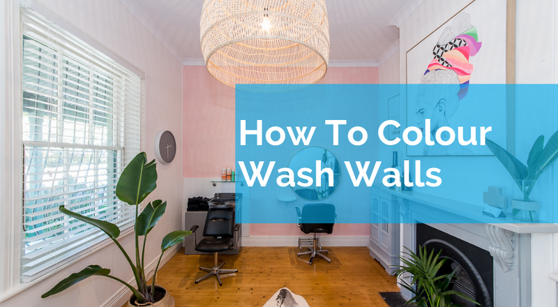 How To Colour Wash Walls