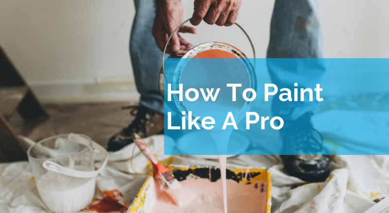 How You Can Paint Like A Professional