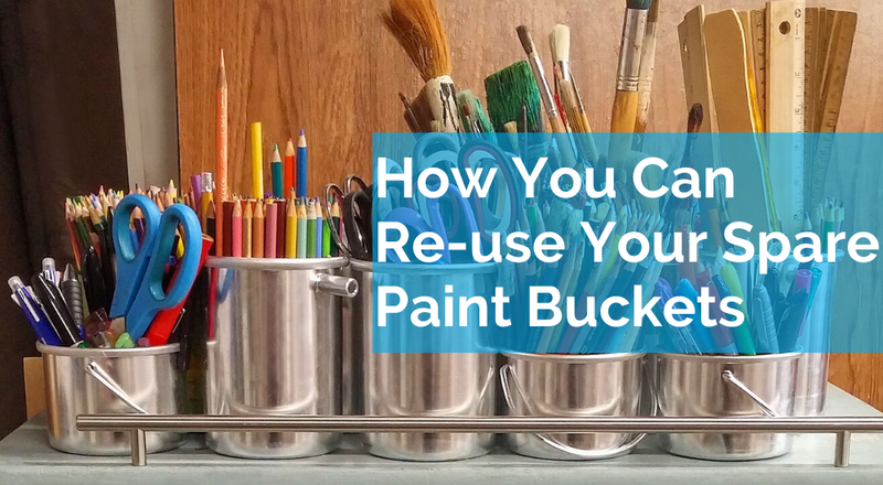 How You Can Reuse Your Monsta Paint Buckets