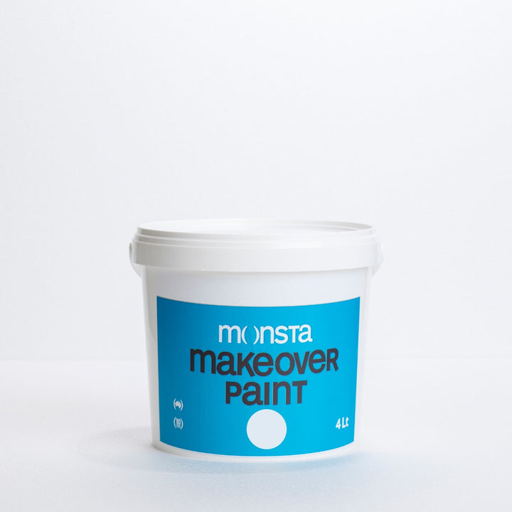 Monsta Makeover Paint - White - Sample Pot