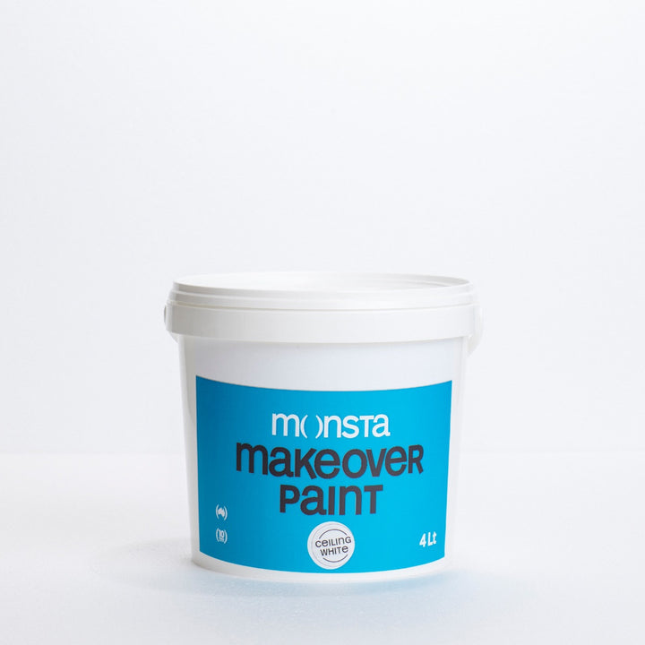 Monsta Ceiling White Paint - 4L Pail