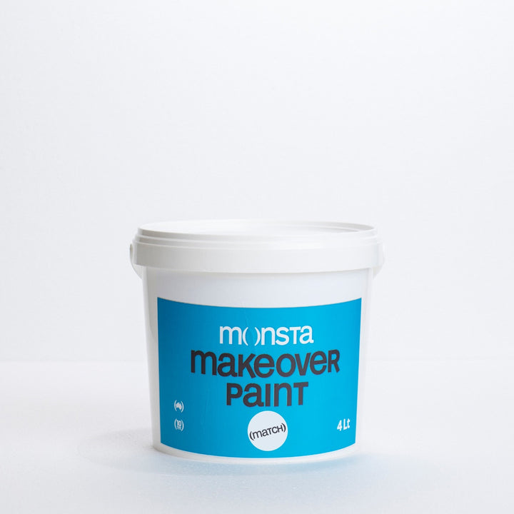 Monsta Match Custom Paint - White - Sample Pot