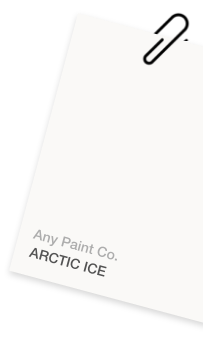 Artice Ice Colour Card Example