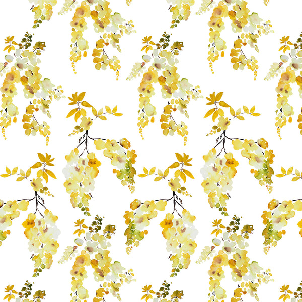 Golden Rain Fall Fabric Sample