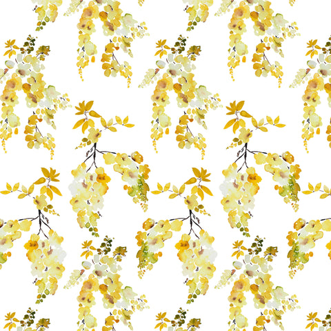 Golden Rain Fall Fabric