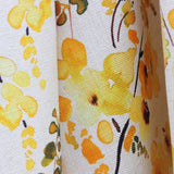 Golden Rain Fabric Sample