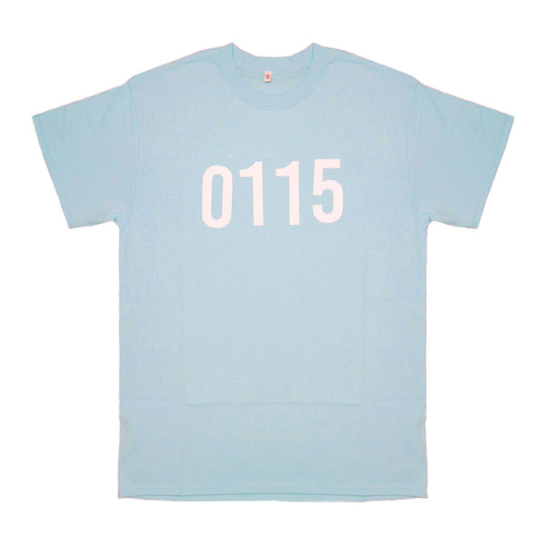 0115 Records - T-Shirts - 0115 T-shirt (Powder)