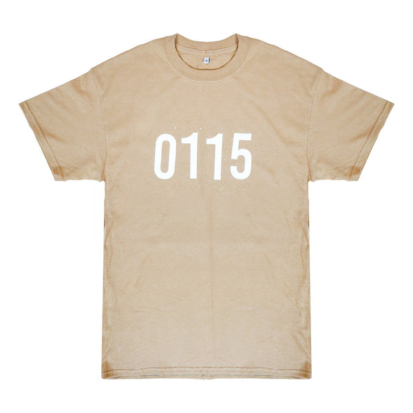 0115 Records - T-Shirts - 0115 T-shirt (Sand)