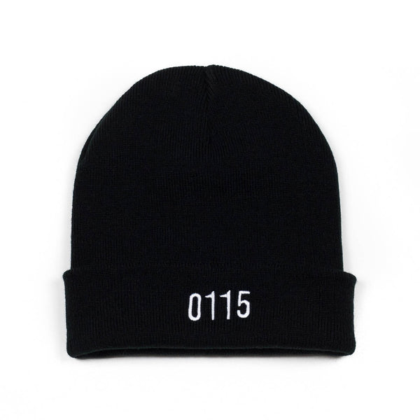 0115 Records - Beanies - 0115 Beanie (Black)