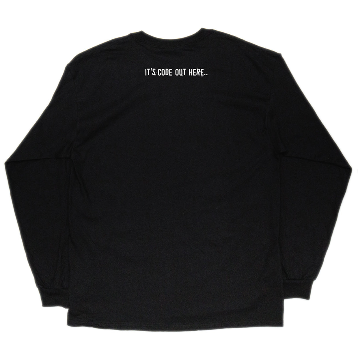 0115 Records - T-Shirts - 0115 x Katana Long Sleeve T-shirt (Black)