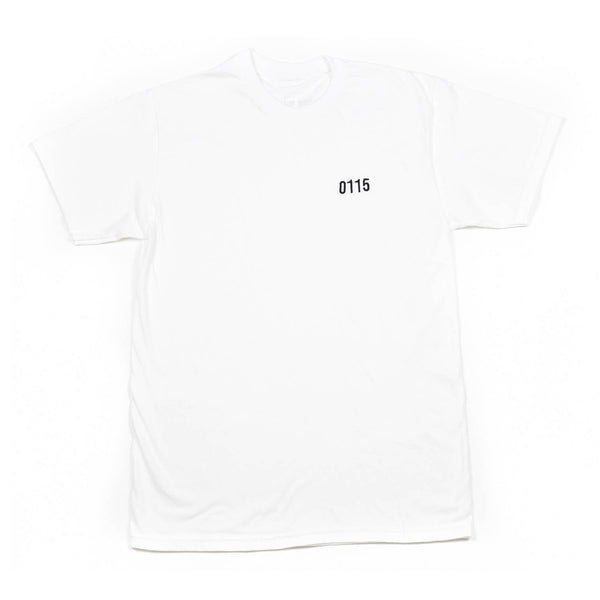 0115 Records - T-Shirts - 0115 OG Stitch T-shirt (White)