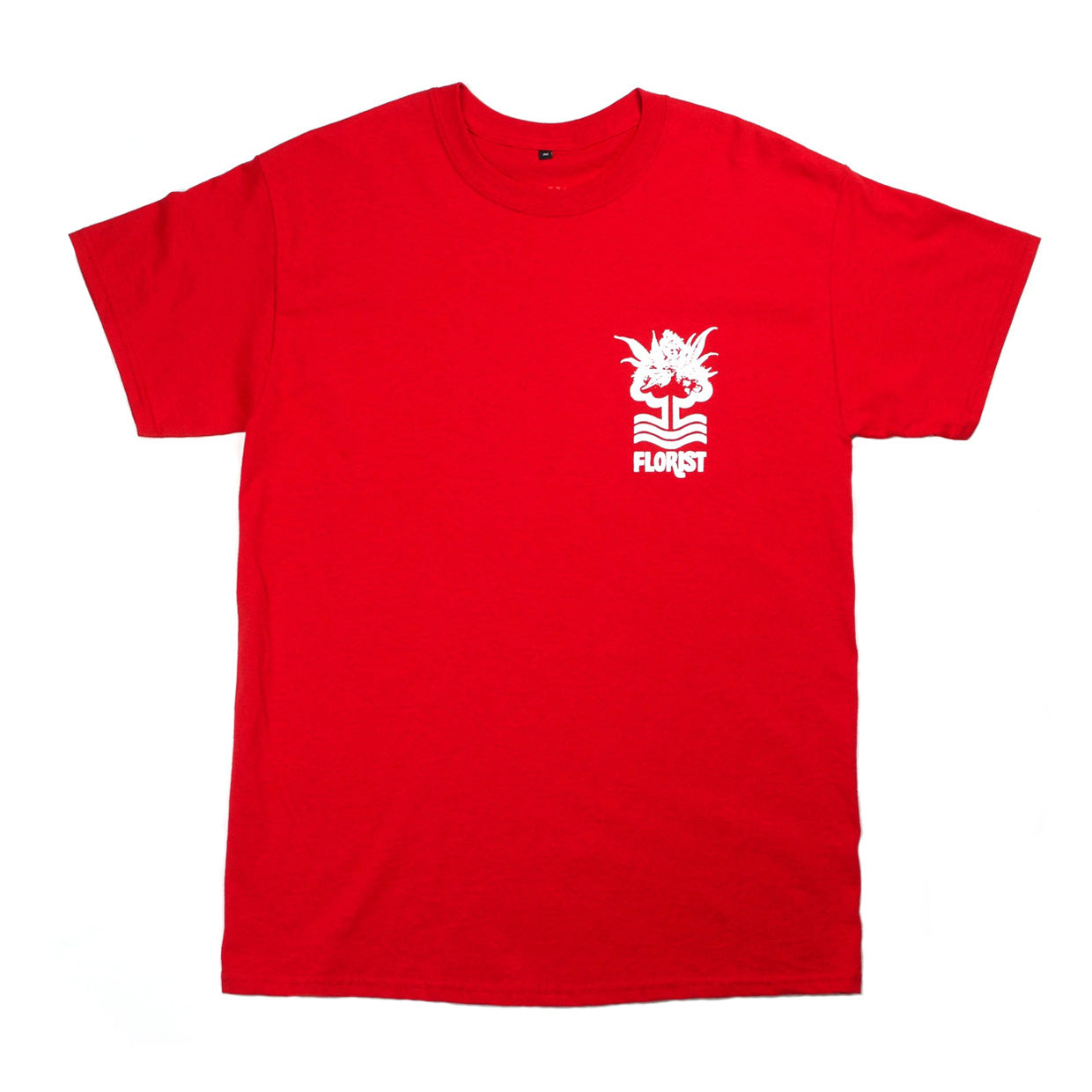 0115 Records - T-Shirts - 0115 x The Tribes - Notts Florist T-shirt (Red)