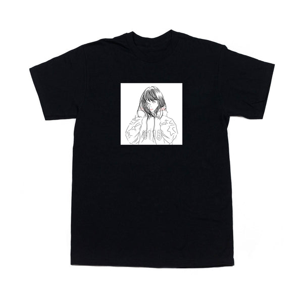 0115 Records - T-Shirts - 0115 X Mom Nyano T-shirt (Black)