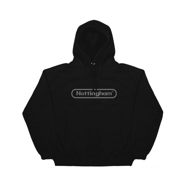 0115 Records - Hoodies - Nottstendo Hoodie (Black/Grey)