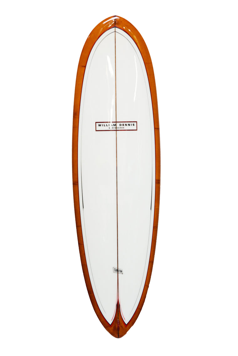 "William Dennis Custom ""Scorpian"" Shortboard"