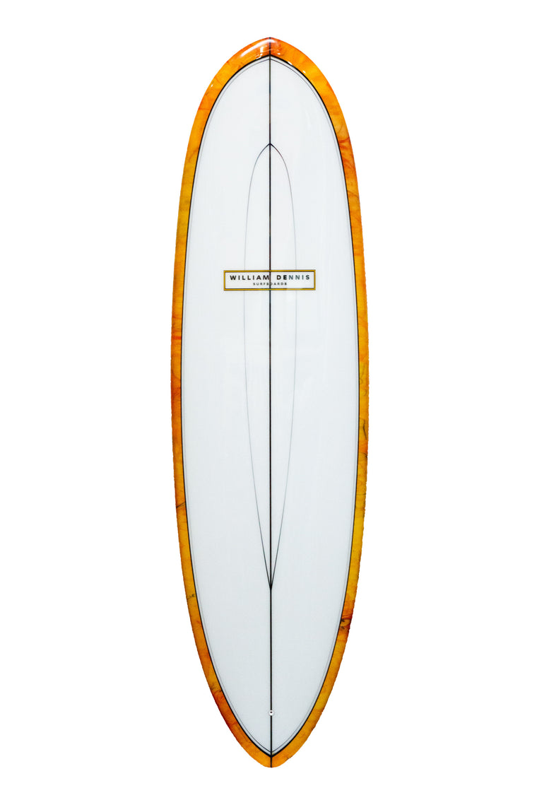 "William Dennis Custom ""Egg"" ShortBoard"