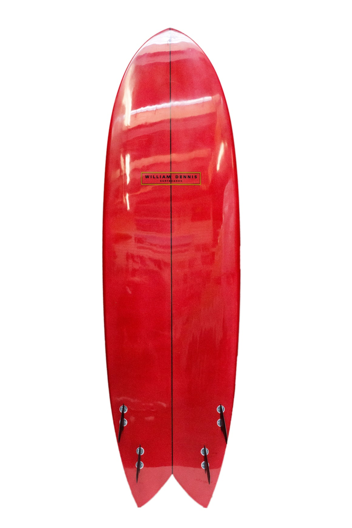 "William Dennis Custom ""Mini Mega Swallow Tail"" ShortBoard - Ventura Surf Shop"