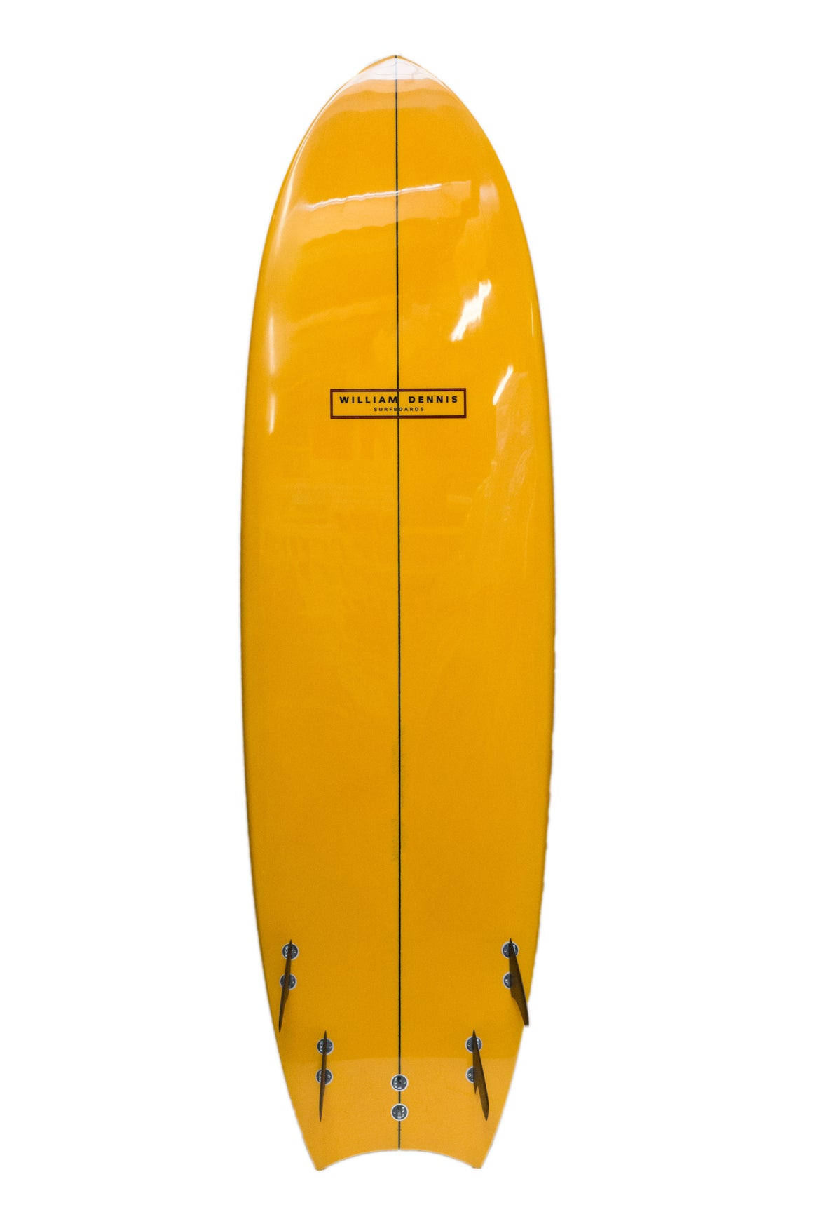 "William Dennis Custom ""Mini Mega Moon Tail"" ShortBoard - Ventura Surf Shop"