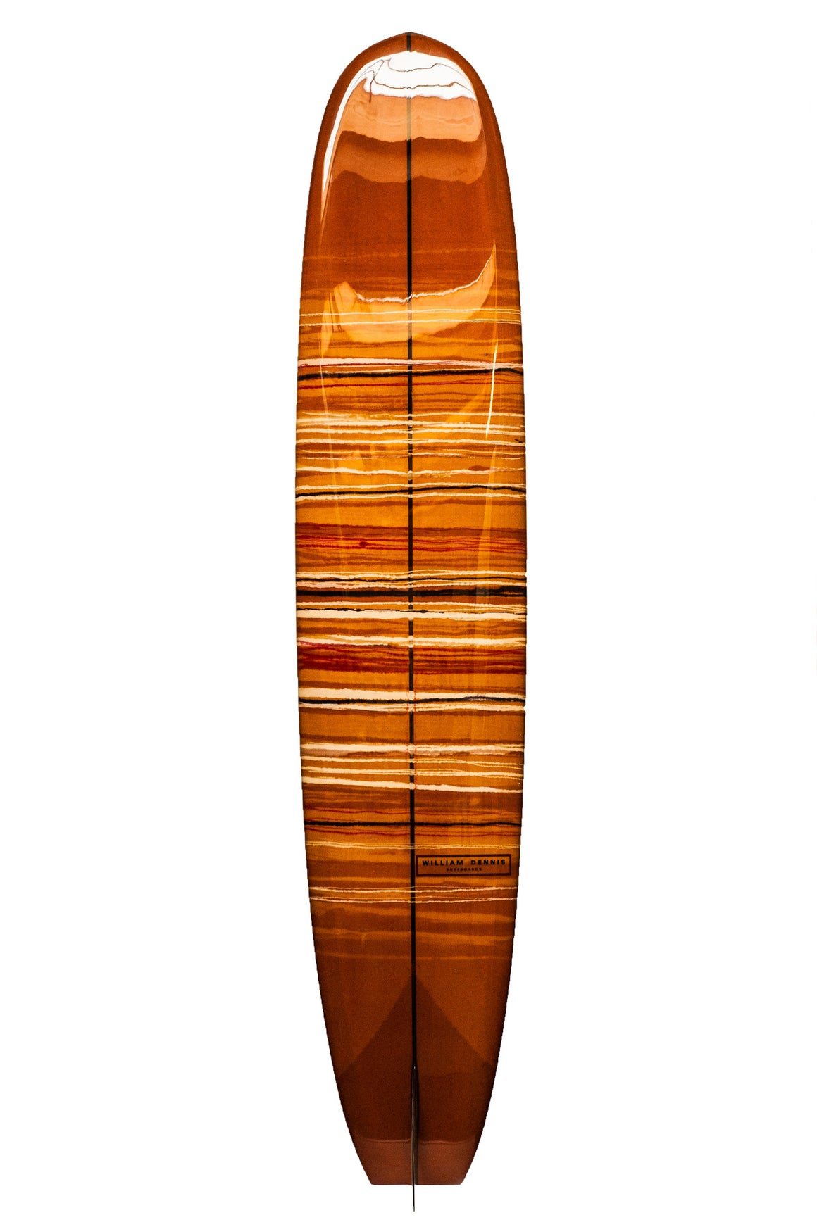 "William Dennis Custom ""Ben Samuel Model"" Longboard Surfboard - Ventura Surf Shop"