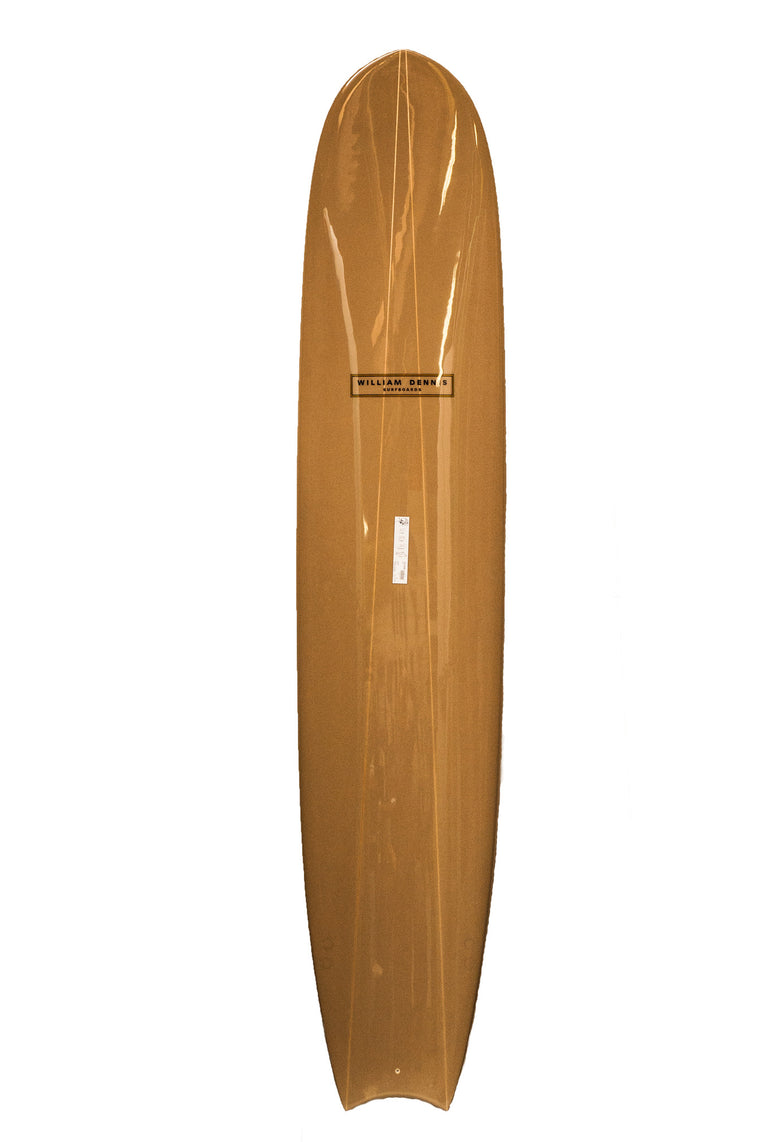 "William Dennis Custom ""Quad"" Nose-rider Longboard Surfboard"