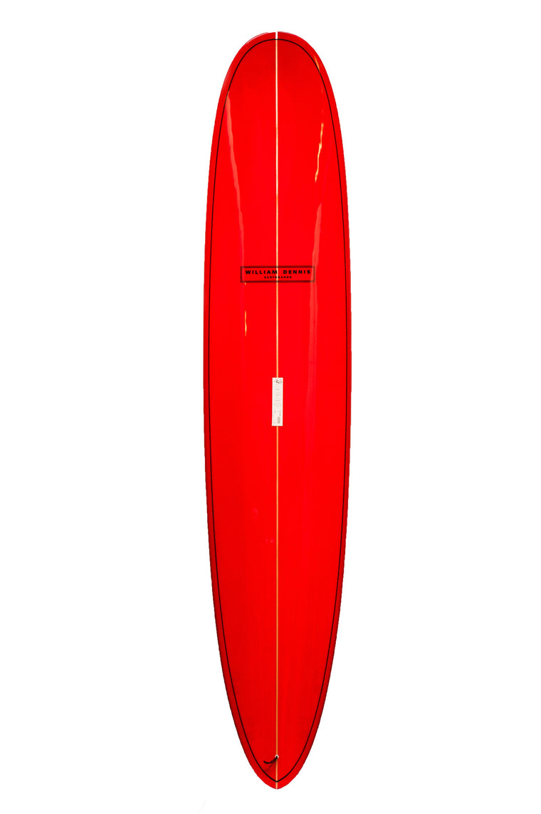 "William Dennis Custom ""Pro Quad Pin"" Longboard Surfboard"