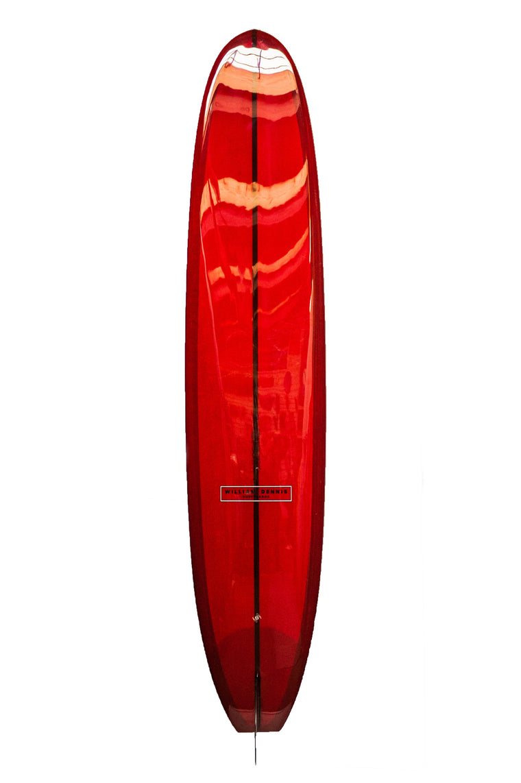"William Dennis Custom ""Hybrid Pig"" Longboard Surfboard"