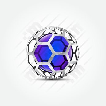 3D Logo Design honeycomb - Clever Mark Store