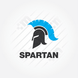 Spartan Golden Ratio Logo Design - Clever Mark Store