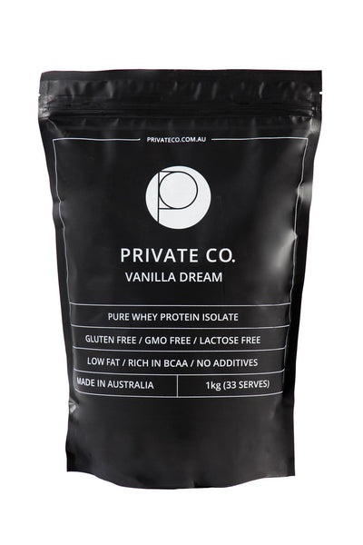 PRIVATE CO. VANILLA DREAM WHEY PROTEIN ISOLATE