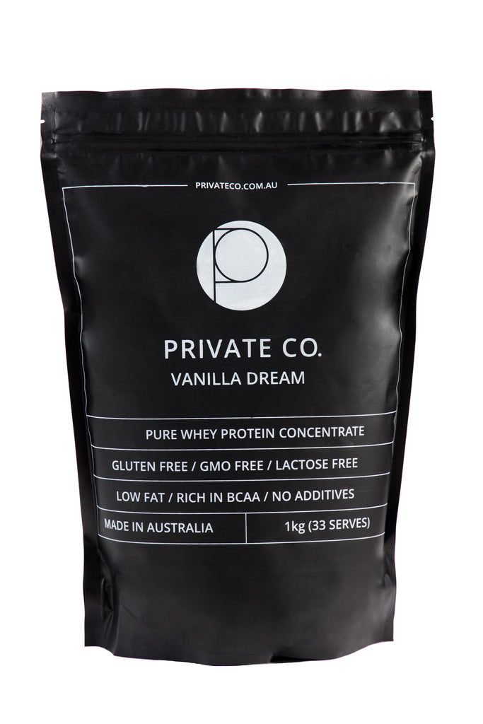 PRIVATE CO. VANILLA DREAM WHEY PROTEIN CONCENTRATE