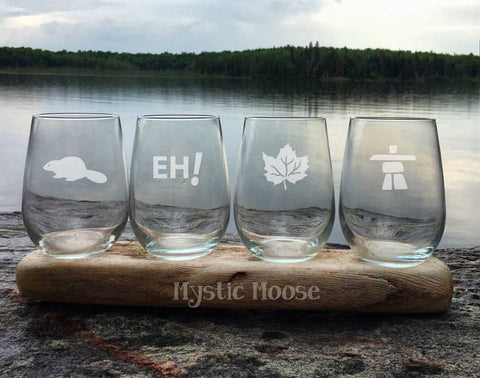 """O'Canada"" Collection  - Stemless"
