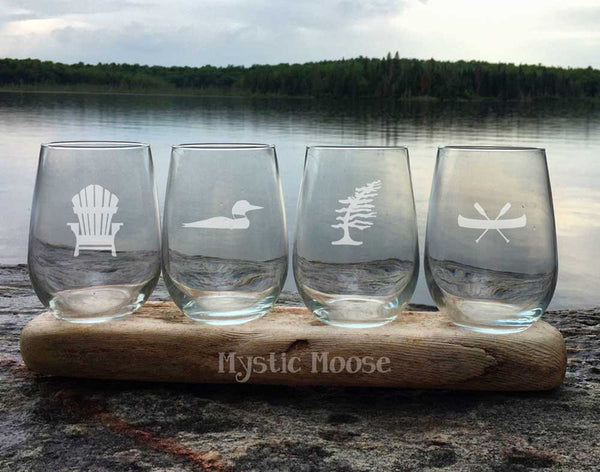 Mix & Match - Set of 4 Stemless Glasses