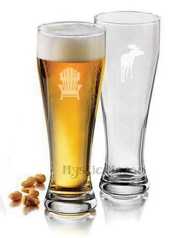Pilsner Glasses - Set of 4 - Mix & Match