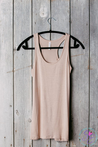 Racer Back Tank Top