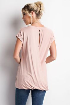 Open Back Top. Blush. Runs large. Go down a size.
