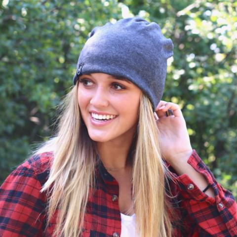 Are you a beanie or hat lover but struggle when your hair is up? Check out our Pony Tail, Messy Bun, Slouchy Beanie In One!