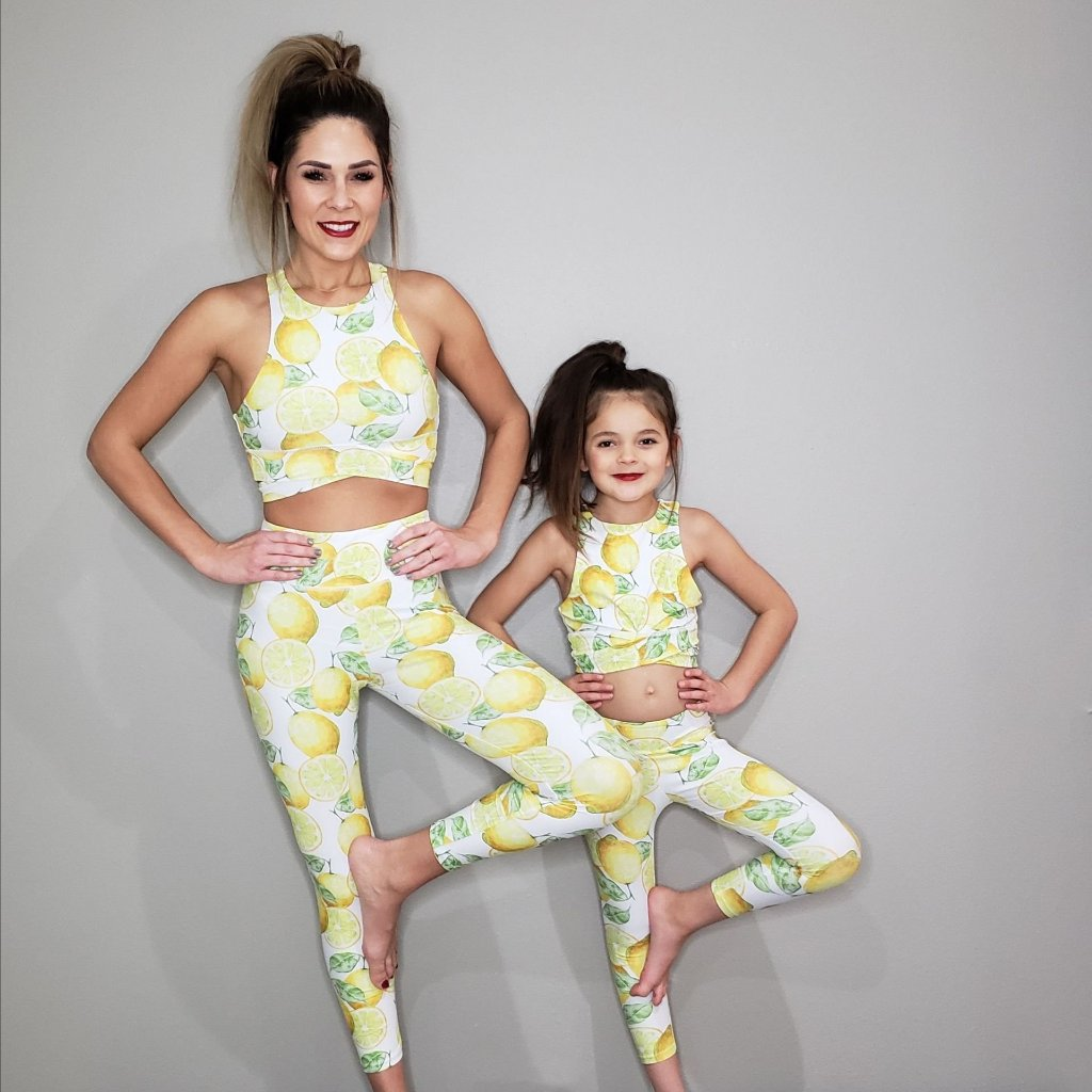 matching leggings for mommy and me