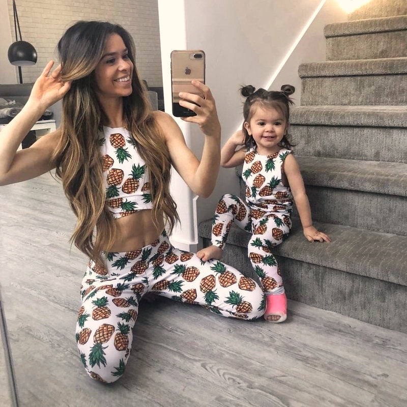 matching outfit for mother and daughter