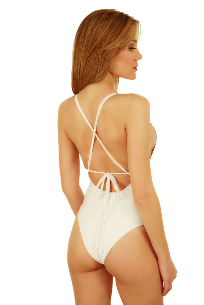 Pink Flamingo - Woman one piece swimsuits - Paris