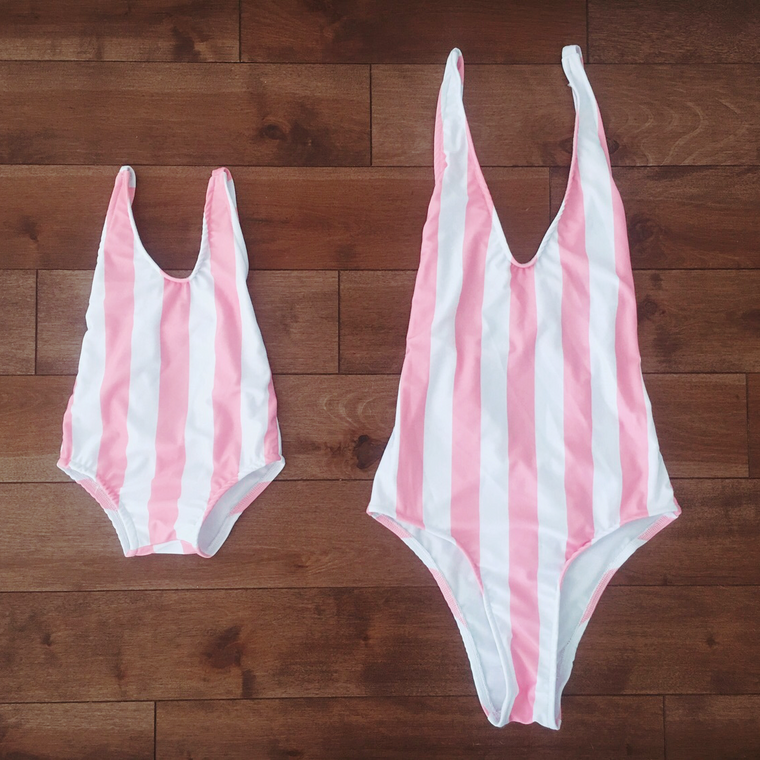 matching swimsuit for mommy and me - vegan products