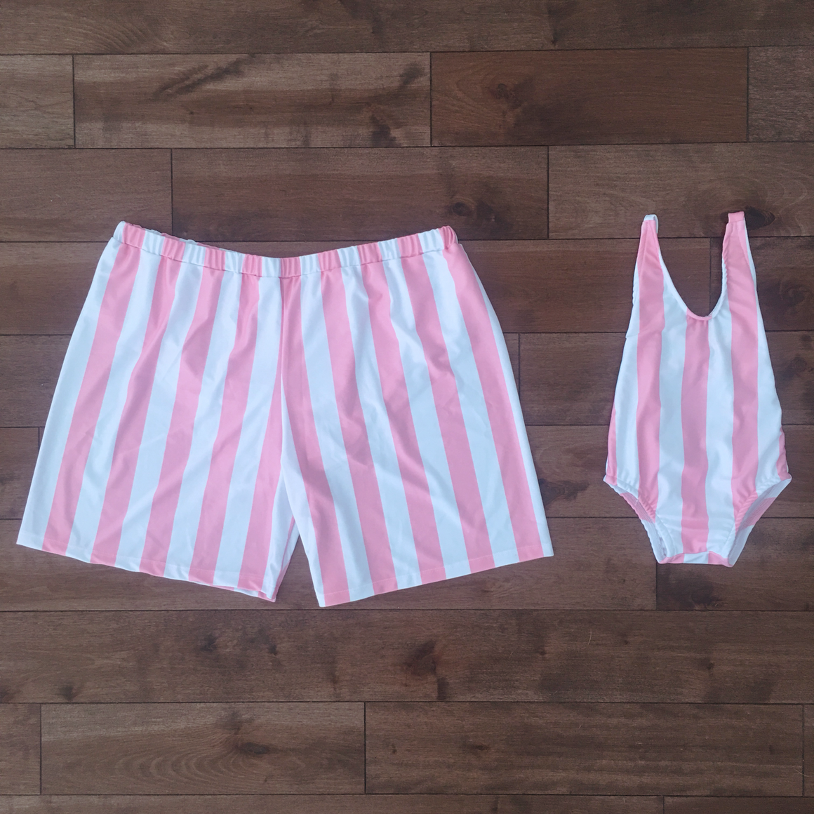 matching swimsuit for daddy and son