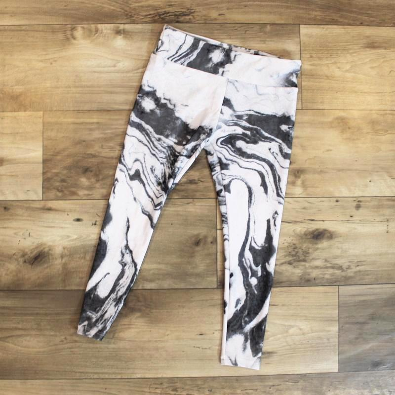 leggings marble for kids - leggings - yoga outfit - yoga pant