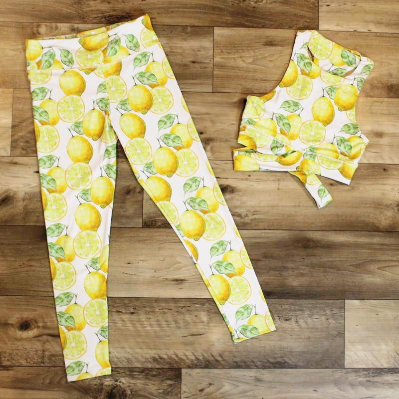Lemon - Legging + bra woman