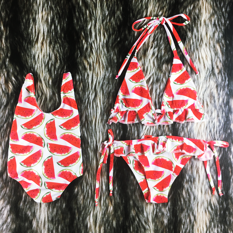 matching swimwear - mommy and me outfit